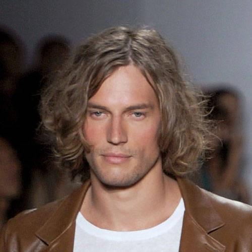 Amato Acconciature maschili per capelli lunghi | Trattamenti capelli JY31